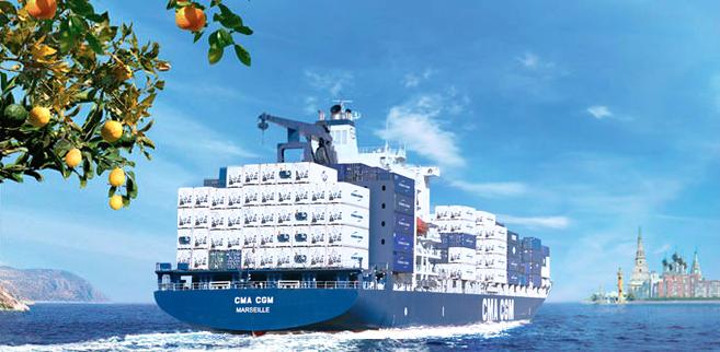 морские грузовые перевозки между странами